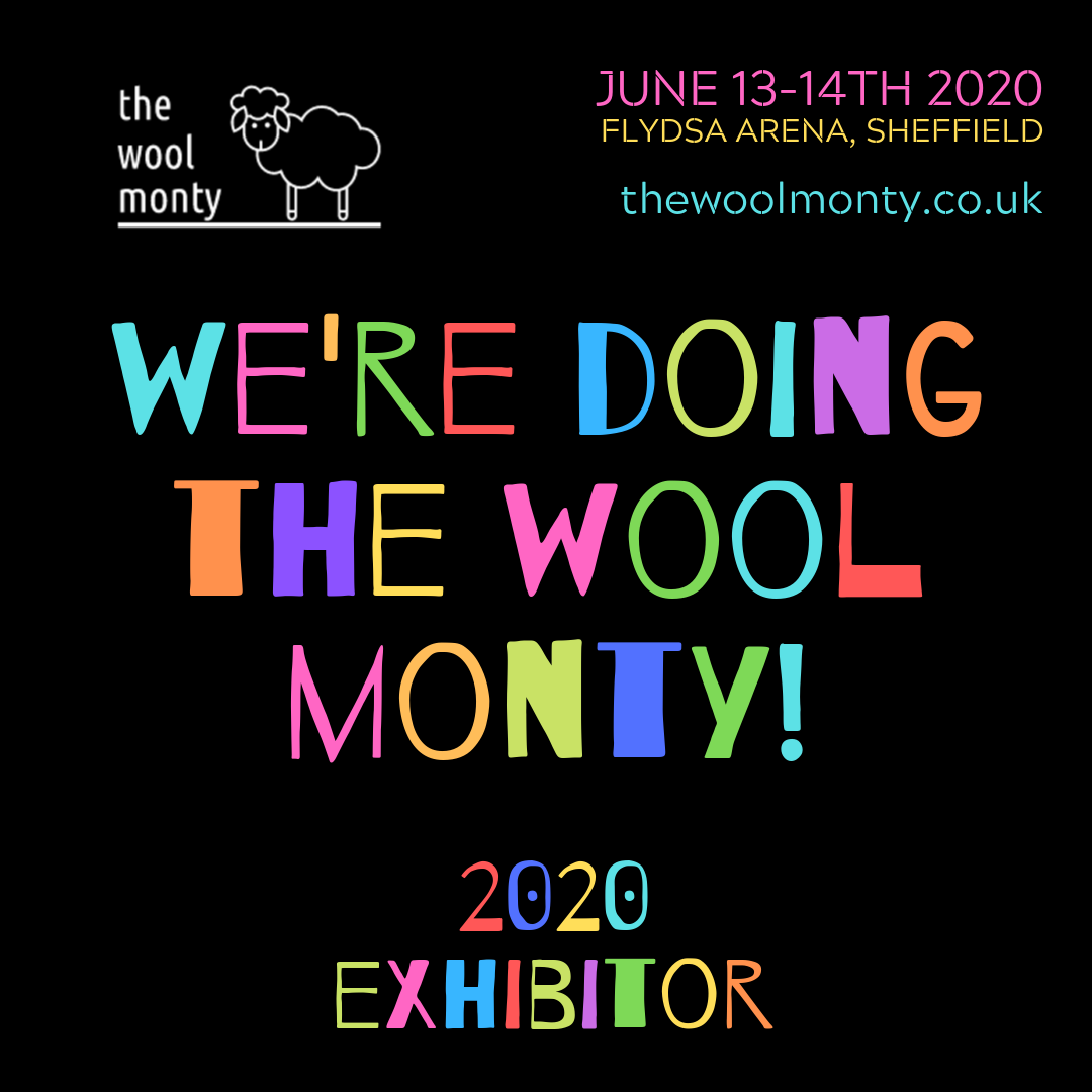 The Wool Monty Exhibitor logo.