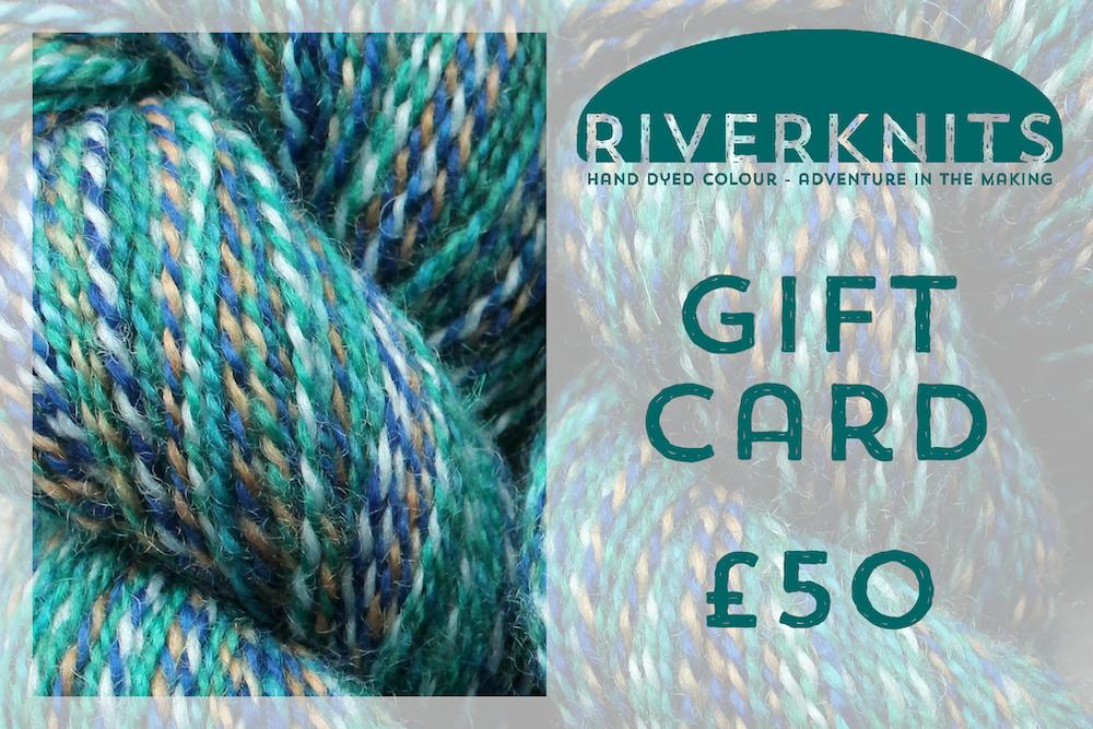 RiverKnits Gift Card £50