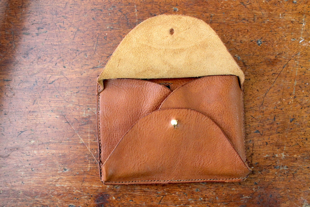 Crafter's wallet in tan