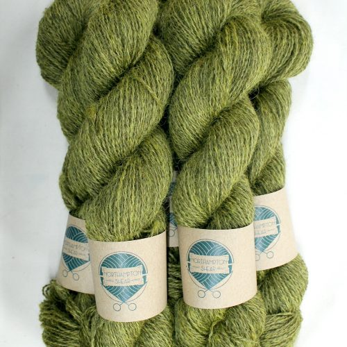 Skeins of Northampton Shear Leicester Longwool in the colourway Coton