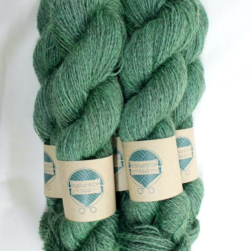 Skeins of Northampton Shear Leicester Longwool in the colourway Everdon