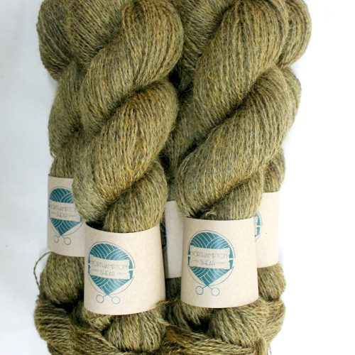 Skeins of Northampton Shear Leicester Longwool in the colourway Snorscombe