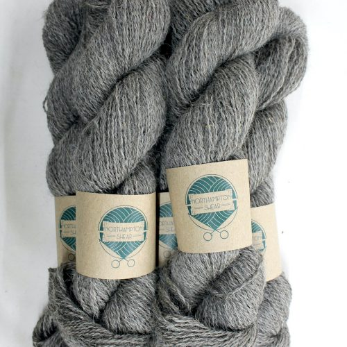 Skeins of Northampton Shear Leicester Longwool in the colourway Astcote