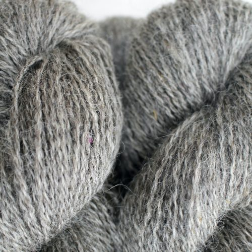 Close up of skeins of Northampton Shear Leicester Longwool in the colourway Astcote